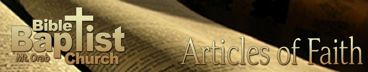 bible baptist posts involving faith